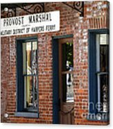 Provost Marshal Acrylic Print