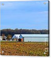 Preparing For The Sowing Season Acrylic Print