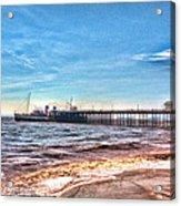 Ps Waverley At Penarth Pier 2 Acrylic Print