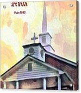 Psalm 119 151 Acrylic Print