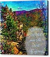Psalm 119 175 Acrylic Print