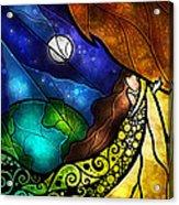 Psalm 91-4 Acrylic Print by Mandie Manzano