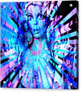 Psychedelic Barbie Acrylic Print