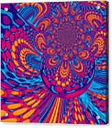 Psychedelic Mind Trip Acrylic Print