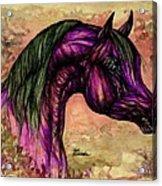 Psychedelic Purple Acrylic Print