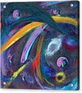 Psychedelic Winds Acrylic Print