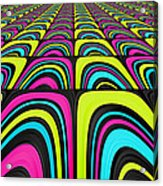Psychel - 003 Acrylic Print by Variance Collections