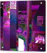 Psycho Den Acrylic Print