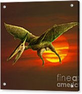 Pterodactyl Acrylic Print