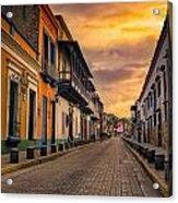 Pto Cabello Colonial District Acrylic Print