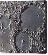 Ptolemaeus And Alphonsus Craters Acrylic Print