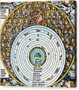 Ptolemaic Universe, 1493 Acrylic Print