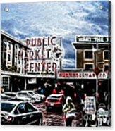 Public Market Acrylic Print