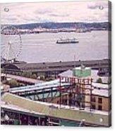 Public Market Seattle Acrylic Print