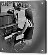 Public Music 2 Acrylic Print by Frederico Borges