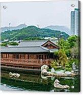 Public Nan Lian Garden Acrylic Print