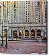 Public Square Cleveland Ohio Acrylic Print