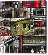 Pubs Of Dublin Acrylic Print by David Smith