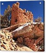 Pueblo Cliff Acrylic Print