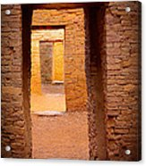 Pueblo Doorways Acrylic Print