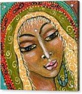 Pueblo Priestess Acrylic Print