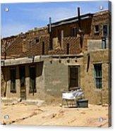 Pueblo Yard Sale Acrylic Print