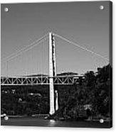 Puente II Bw Acrylic Print