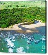 Puerta Plata Coastline Acrylic Print
