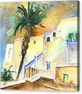 Puerto Carmen Sunset In Lanzarote 03 Acrylic Print