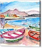 Puerto De Sardina 03 Acrylic Print