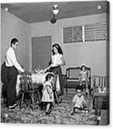 Puerto Rico Family Dinner Acrylic Print