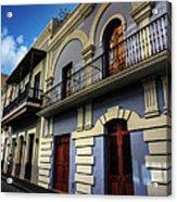 Puerto Rico - Old San Juan 002 Acrylic Print