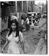 Puerto Rico Slum, 1942 Acrylic Print
