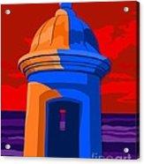 Puerto Rico Turret Acrylic Print