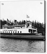 Puget Sound Ferry Boat Acrylic Print