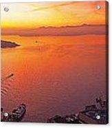 Puget Sound Sunset Acrylic Print