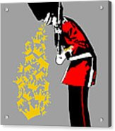Puke Royal Guard Digital Version Acrylic Print