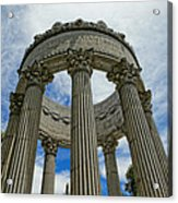 Pulgas Water Temple Acrylic Print