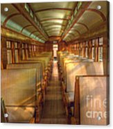 Pullman Porter Train Car Acrylic Print