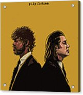 Pulp Fiction Acrylic Print