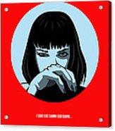 Pulp Fiction Poster 3 Acrylic Print