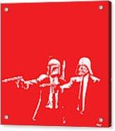 Pulp Wars Acrylic Print
