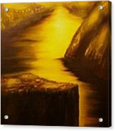 Pulpit Rock-preikestolen-original Sold-buy Giclee Print Nr 27 Of Limited Edition Of 40 Prints  Acrylic Print