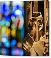 Pulpit Trinity Cathedral Pittsburgh Acrylic Print
