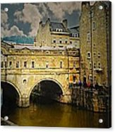Pulteney Bridge Acrylic Print