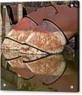 Pumphouse Intake Pipes Acrylic Print