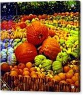 Pumpkin Love Acrylic Print