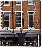 Pumpkin Man Acrylic Print