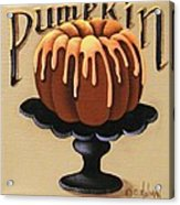 Pumpkin Spice Cake Acrylic Print