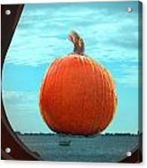 Pumpkin View Acrylic Print